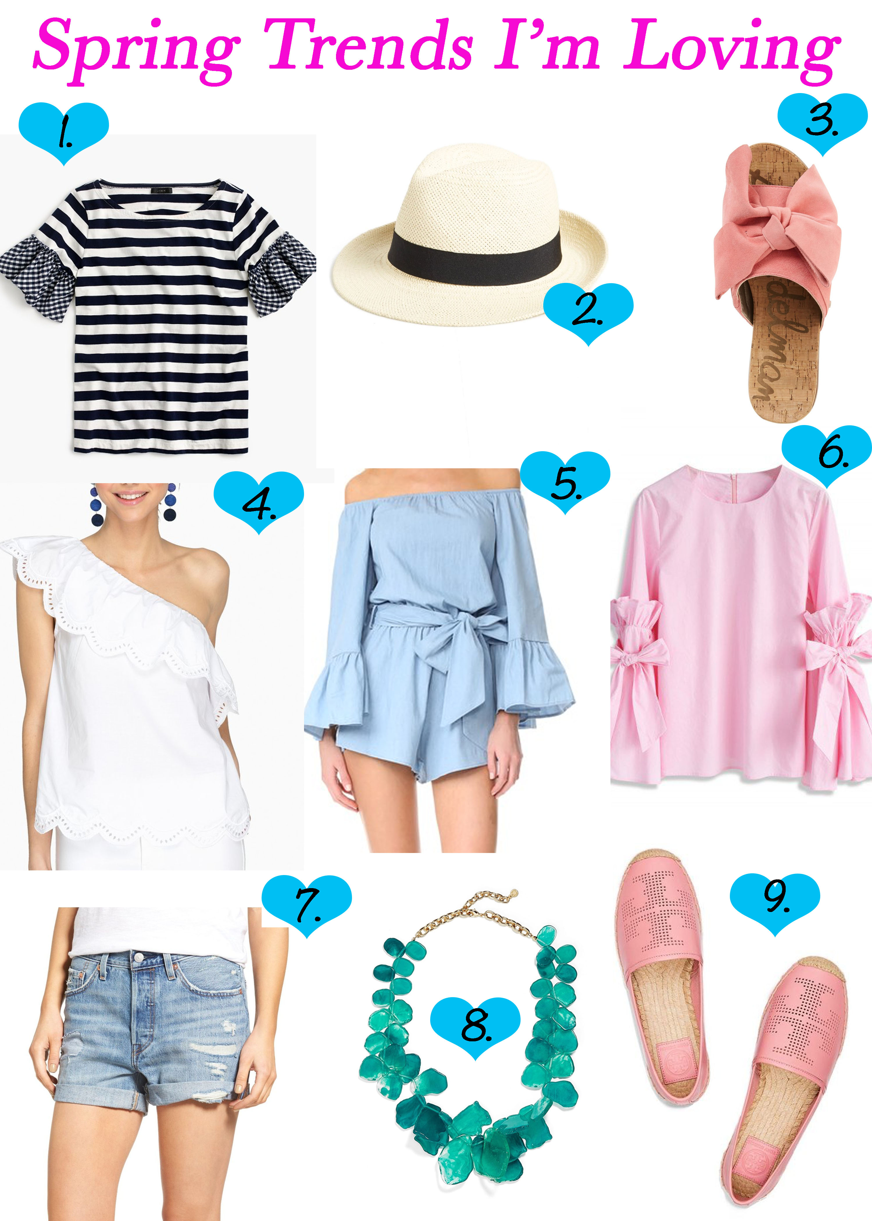 The Spring Items You Need